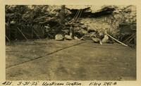 Lower Baker River dam construction 1925-03-31 Upstream Section Elev 242.8
