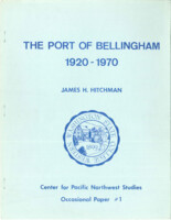 The Port of Bellingham, 1920-1970