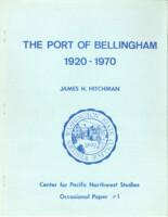 The Port of Bellingham, 1920-1970