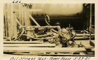 Lower Baker River dam construction 1925-05-23 Oil Storage Tank Power House