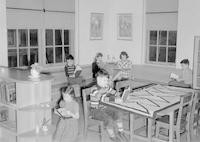 1943 Reading Corner Third Grade Classroom