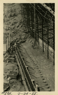 Lower Baker River dam construction 1925-02-24