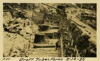 Lower Baker River dam construction 1925-05-10 Draft Tubes Forms
