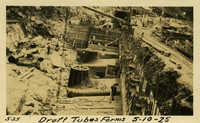 Lower Baker River dam construction 1925-05-10 Draft Tubes Forms
