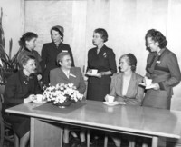 Women at AAUW State Board Meeting