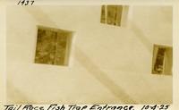 Lower Baker River dam construction 1925-10-04 Tail Race Fish Trap Entrance