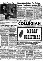 Western Washington Collegian - 1951 December 21