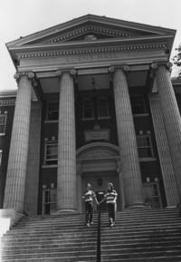1955 Edens Hall: Exterior Steps