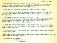AS Board Minutes 1934-07