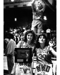 1989 Anna Rabel, Donna Monette, and Katie Kennedy