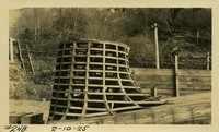 Lower Baker River dam construction 1925-02-10