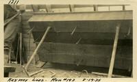 Lower Baker River dam construction 1925-08-19 Key Way Logs - Run #193