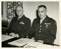 Lieut. Col. Glen W. Campbell and General James P. Hodges