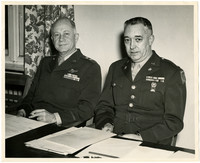 Lieut. Col. Glen W. Campbell and General James P. Hodges