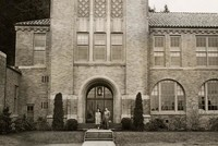 1946 Campus School Building Main Entrance