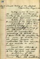 AS Board Minutes - 1925 May