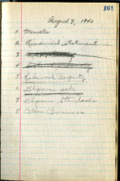 AS Board Minutes 1940-08