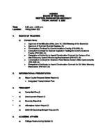 WWU Board minutes 2002 August