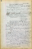 AS Board Minutes - 1920 September