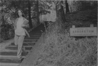 1972 Student in Sehome Hill Arboretum