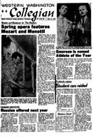 Western Washington Collegian - 1958 May 16