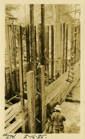 Lower Baker River dam construction 1925-02-16 Trench in concrete