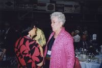 2007 Reunion--Bobbie Bouverat and Eloise Stendal at the Banquet