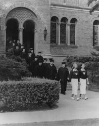 1949 Library: Commencement