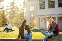 Western Washington University Students On Campus