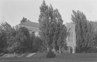 1955 Library: South Facade