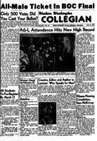 Western Washington Collegian - 1954 February 19