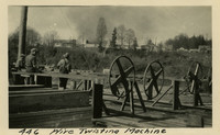 Lower Baker River dam construction 1925-04 Wire Twisting Machine
