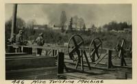 Lower Baker River dam construction 1925-04 Wire Twisting Machine