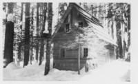 Wooden cabin