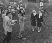 1946 Homecoming Court at Game