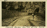 Lower Baker River dam construction 1925-07-12 Concrete Surface Run #159 El.373