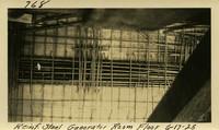 Lower Baker River dam construction 1925-06-17 Reinf Steel Generator Room Floor