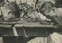 1948 Campus Day: Pie-Eating Contest