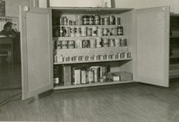 1944 Art Supplies Cupboard