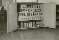 1944 Art Supplies Cupboard