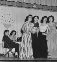 1948 Homecoming Festivities: Edens Hall Skit
