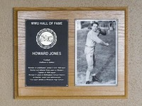 Hall of Fame Plaque: Howard Jones, Football (Running Back and Safety), Class of 1995