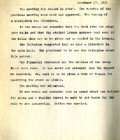 AS Board Minutes 1943-11