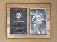 Hall of Fame Plaque: Manny Kimmie, Basketball (Guard), Class of 2003