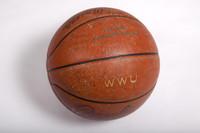 Basketball (Women's): Signed basketball (side 2), undated