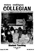 Western Washington Collegian - 1962 January 19