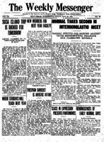 Weekly Messenger - 1921 May 20