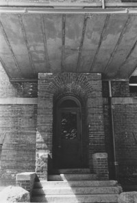 1955 Old Main: Doorway