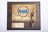 Golf (Men's) Plaque: NAIA District 1 Champions, 1980
