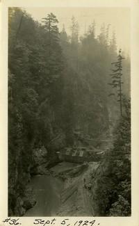 Lower Baker River dam construction 1924-09-05 Dam site